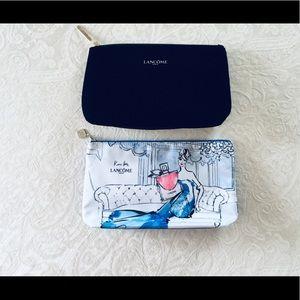 Set of 2 New Lancôme Makeup Bags